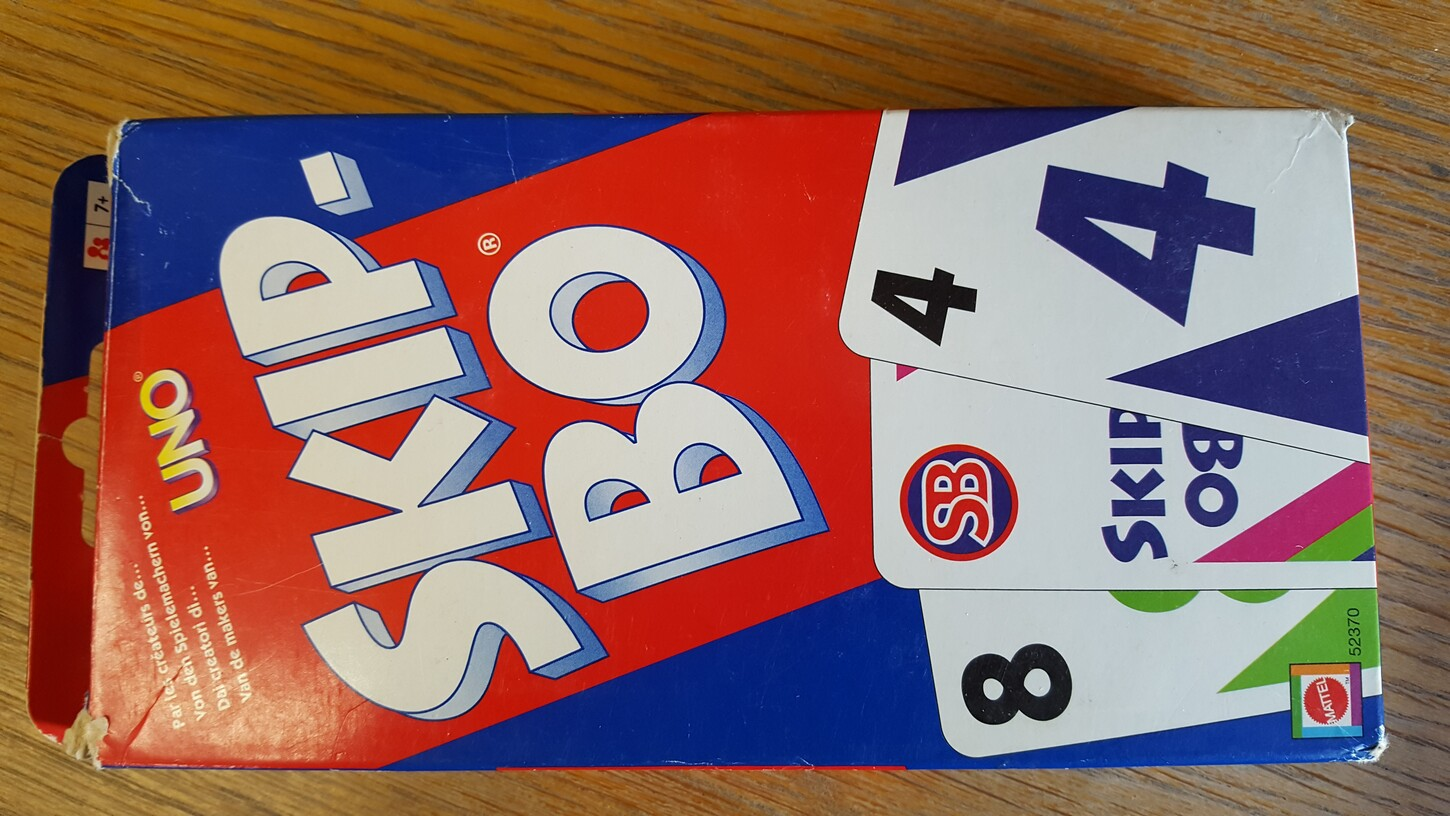 Skip Bo (Freitag, 07. April 2017 - Physisch)