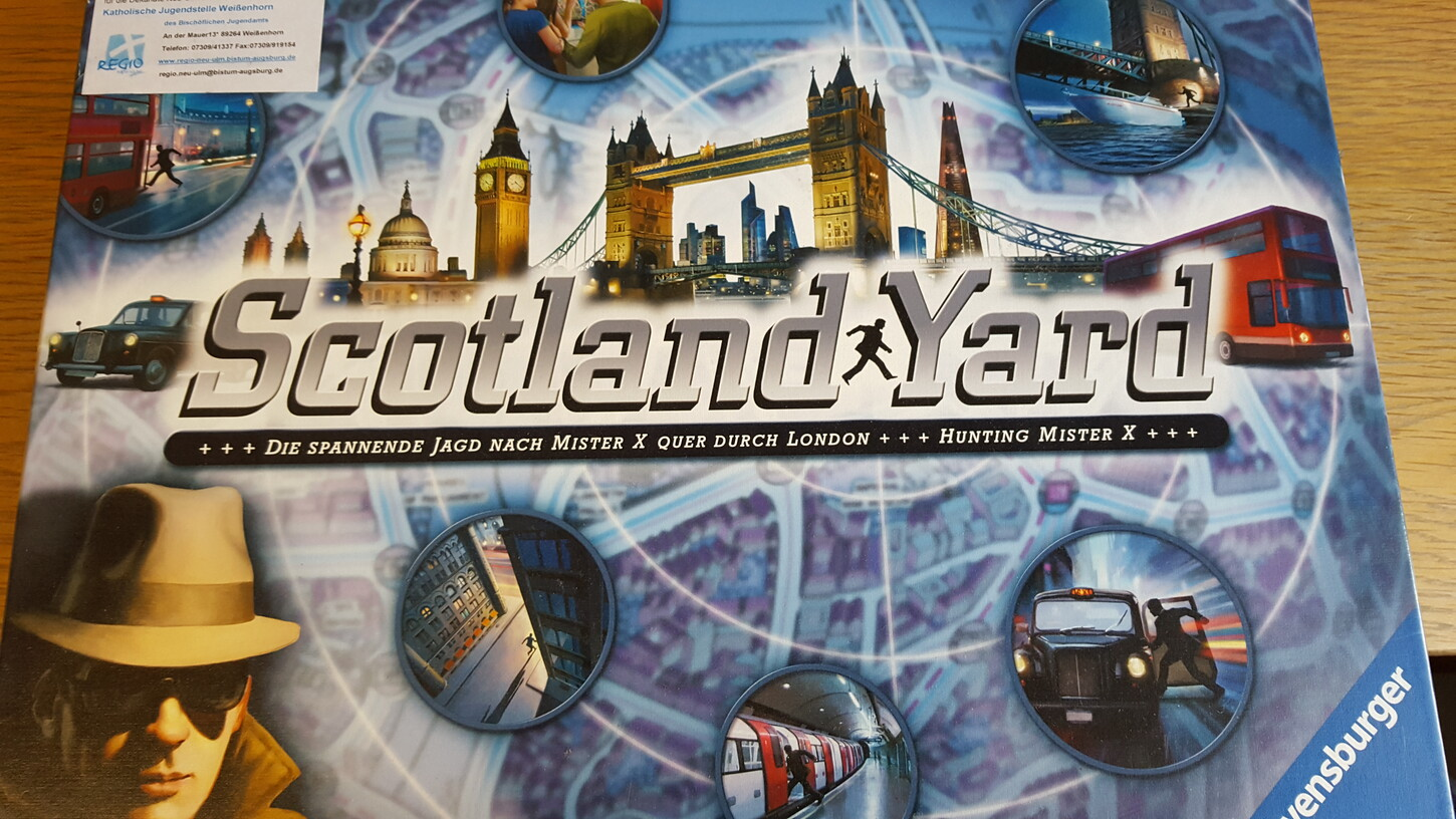 Scotland Yard (Freitag, 07. April 2017 - Physisch)