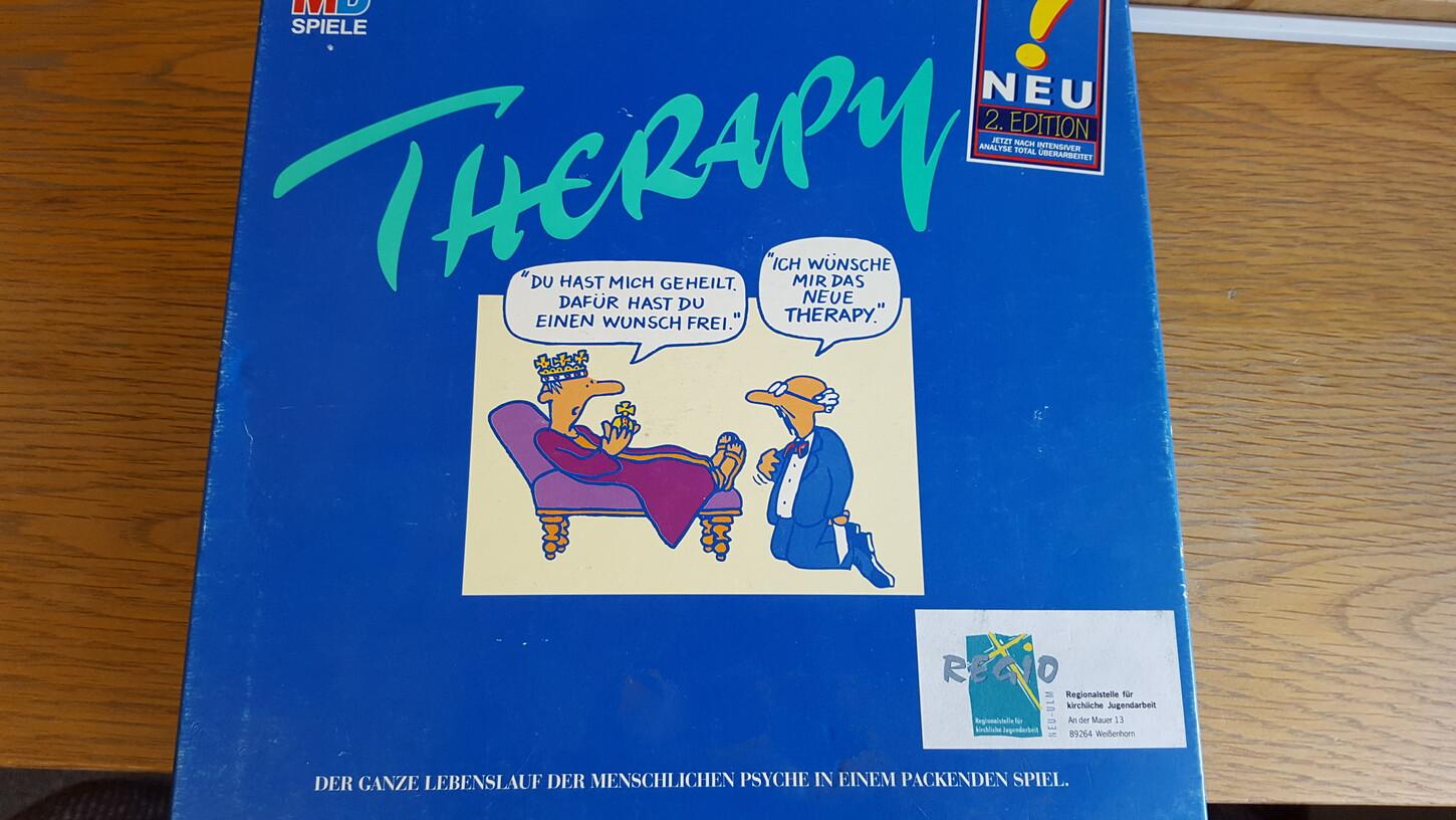 Therapy (Freitag, 07. April 2017 - Physisch)